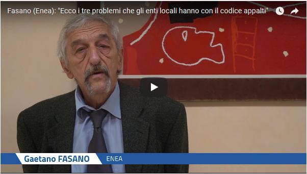 Intervista a Gaetano Fasano di Eleonora Bove (FPA)